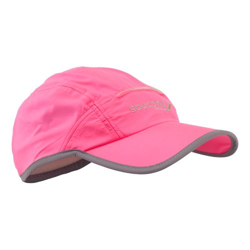Saucony Sonic Vizi Cap with LED Headwear - Vizipro Pink