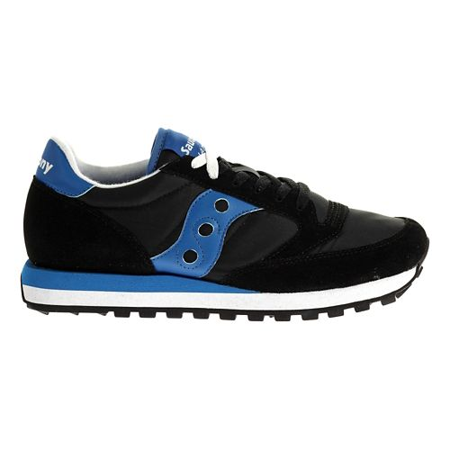Mens Saucony Jazz Original Casual Shoe - Black/Blue 10
