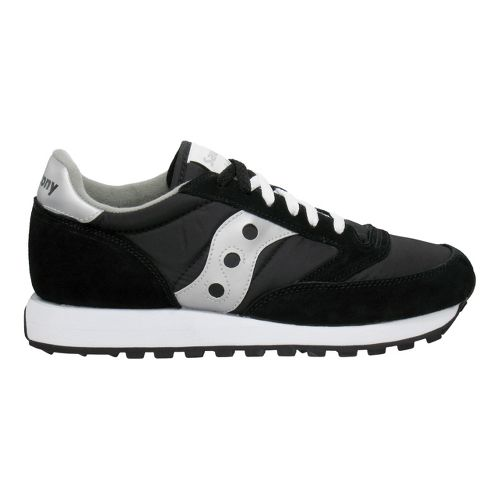 Mens Saucony Jazz Original Casual Shoe - Black/Silver 7.5