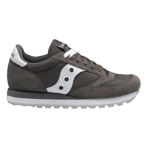 Mens Saucony Jazz Original Casual Shoe - Charcoal/White 11