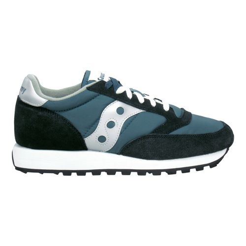 Mens Saucony Jazz Original Casual Shoe - Navy/Silver 9