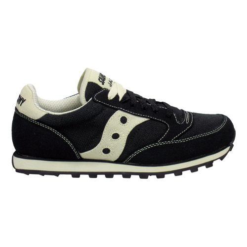 Mens Saucony Jazz Low Pro Vegan Casual Shoe - Black/Oatmeal 10.5