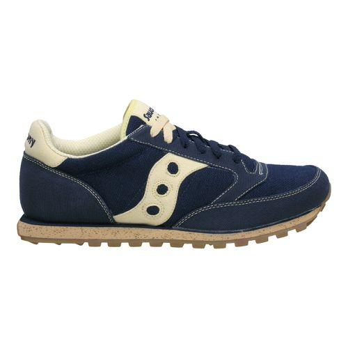 Mens Saucony Jazz Low Pro Vegan Casual Shoe - Navy 7.5