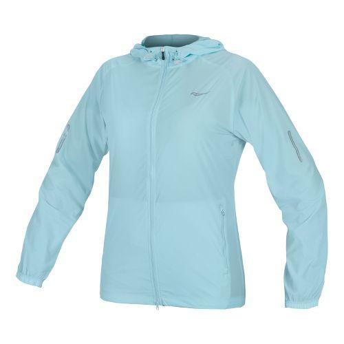Womens Saucony X-Lite Packable Running Jackets - Oxygen XL