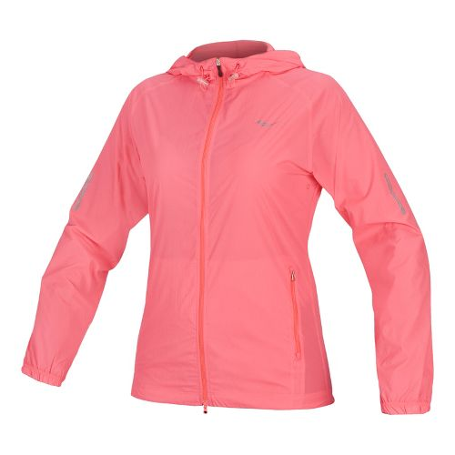 Womens Saucony X-Lite Packable Running Jackets - Vizipro Coral L