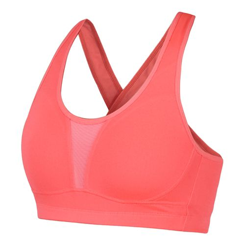 Womens Saucony Curve Crusader Sports Bras - Vizipro Coral 32B