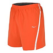 Mens Saucony Run Lux III Lined Shorts