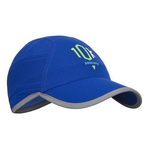 Saucony Milestone A.M. Run Cap Headwear - Cobalt