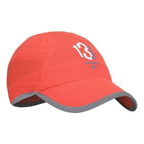 Saucony Milestone A.M. Run Cap Headwear - Firecracker