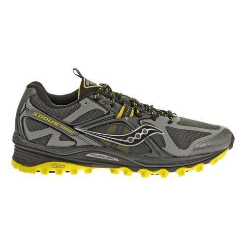 Mens Saucony Xodus 5.0 Trail Running Shoe - Grey/Black 12