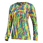 Womens Saucony Daybreak Long Sleeve No Zip Technical Tops