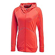 Womens Saucony Omni Full Zip Hoody Warm-Up Hooded Jackets