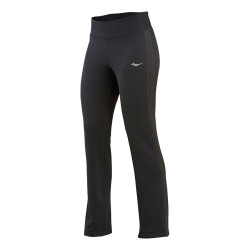 Womens Saucony Siberius Cold weather Pants - Black XL