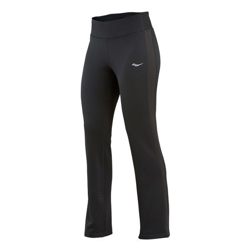 Womens Saucony Siberius Cold weather Pants - Black XS