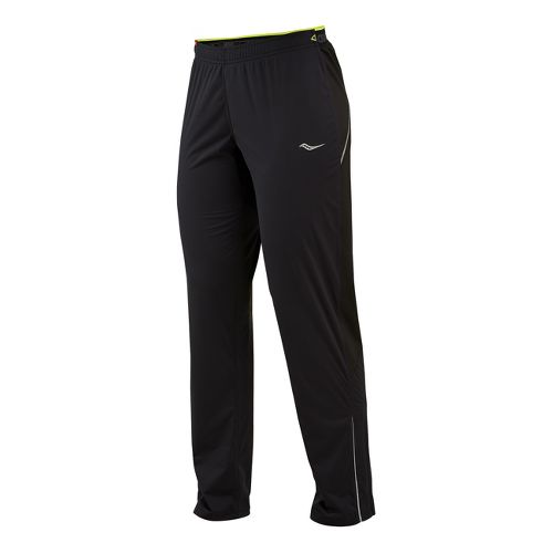 Womens Saucony Nomad Full Length Pants - Black XL