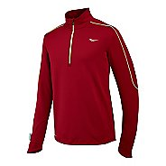Mens Saucony Omni Drylete Sportop Long Sleeve 1/2 Zip Technical Tops