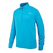 Mens Saucony Run Strong Sportop Long Sleeve 1/2 Zip Technical Tops