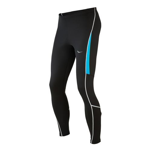 Mens Saucony Omni LX Fitted Tights - Black/Blue Fire M