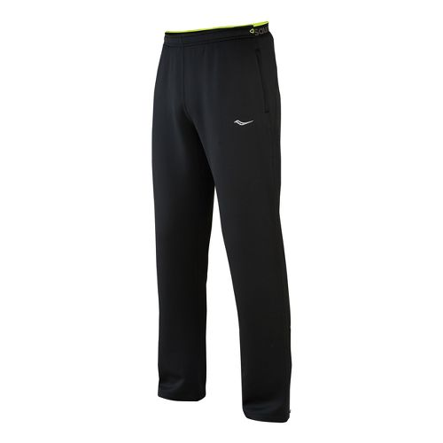 Mens Saucony Siberius Full Length Pants - Black M