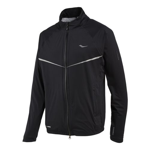 Mens Saucony Razor Running Jackets - Black L