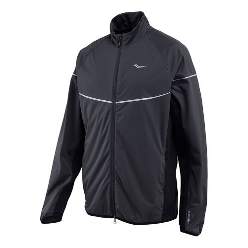 Mens Saucony Nomad Running Jackets - Black XL