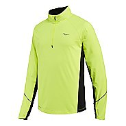 Mens Saucony Nomad Sportop Long Sleeve 1/2 Zip Technical Tops