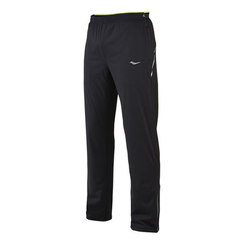 Mens Saucony Nomad Full Length Pants - Black XXL