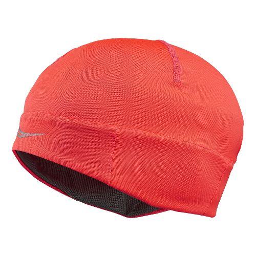Womens Saucony Drylete Ponytail Skull Cap Headwear - Vizipro Electric