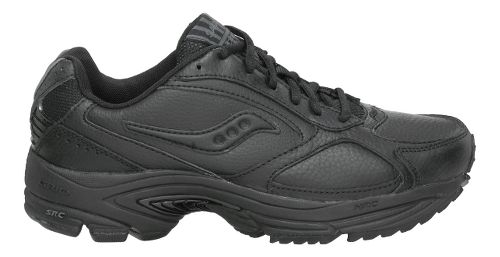 Mens Saucony Grid Omni Walking Shoe - Black 7.5