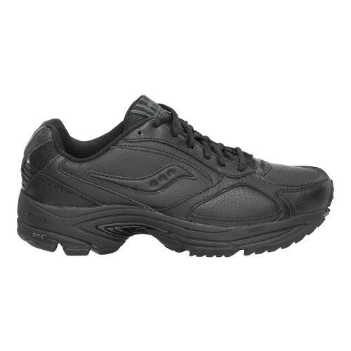 Mens Saucony Grid Omni Walker Walking Shoe - Black 10.5