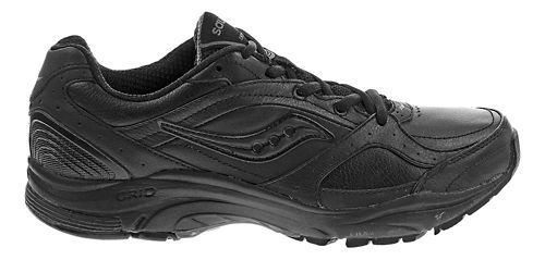 Womens Saucony Grid Integrity ST2 Walking Shoe - Black 7.5
