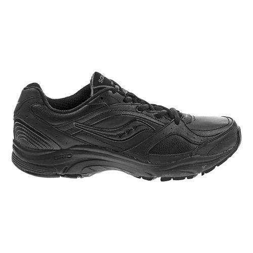 Womens Saucony Grid Integrity ST2 Walking Shoe - Black 7.5