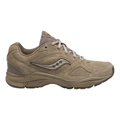 Womens Saucony Grid Integrity ST2 Walking Shoe - Stone 5