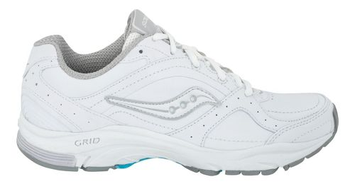 Womens Saucony Grid Integrity ST2 Walking Shoe - White 5