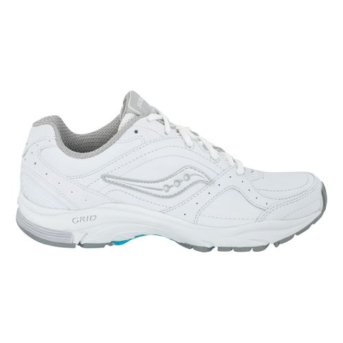 Womens Saucony Grid Integrity ST2 Walking Shoe - White 6.5