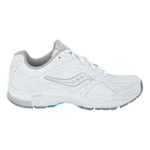 Womens Saucony Grid Integrity ST2 Walking Shoe - White 8