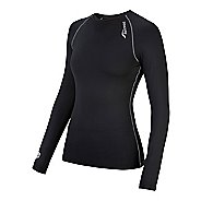 Womens Saucony Amp Pro Long Sleeve No Zip Technical Tops