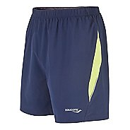 Mens Saucony Run Lux II Lined Shorts