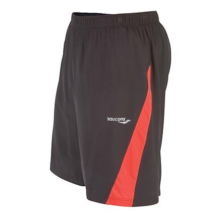 Mens Saucony Interval 2-1 Lined Shorts