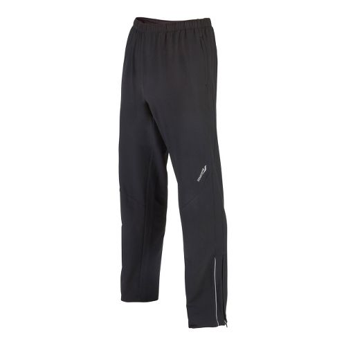 Mens Saucony Tech Training Full Length Pants - Black L
