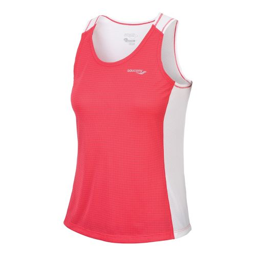 Womens Saucony Hydralite Tanks Technical Tops - Karma XS