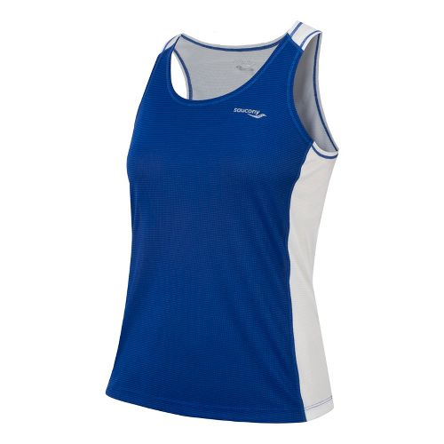 Womens Saucony Hydralite Tank Technical Tops - Cherry Burst XS