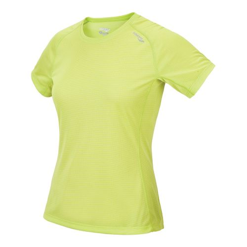 Womens Saucony Hydralite Short Sleeve Technical Tops - Livewire XL