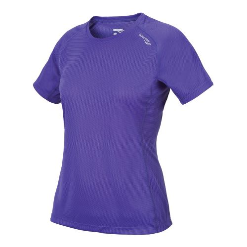 Womens Saucony Hydralite Short Sleeve Technical Tops - Spectra XL