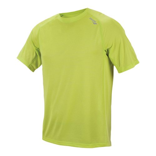 Mens Saucony Hydralite Short Sleeve Short Sleeve Technical Tops - Livewire XL