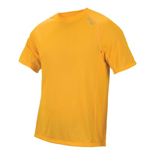 Mens Saucony Hydralite Short Sleeve Short Sleeve Technical Tops - Santa Cruz S
