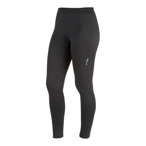 Womens Saucony Siberius Fitted Tights - Black XS