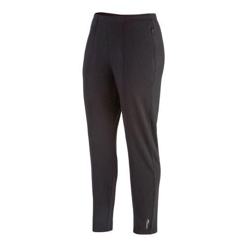 Womens Saucony Boston Full Length Pants - Black XL