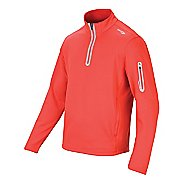 Mens Saucony Siberius Sportop Long Sleeve 1/2 Zip Technical Tops