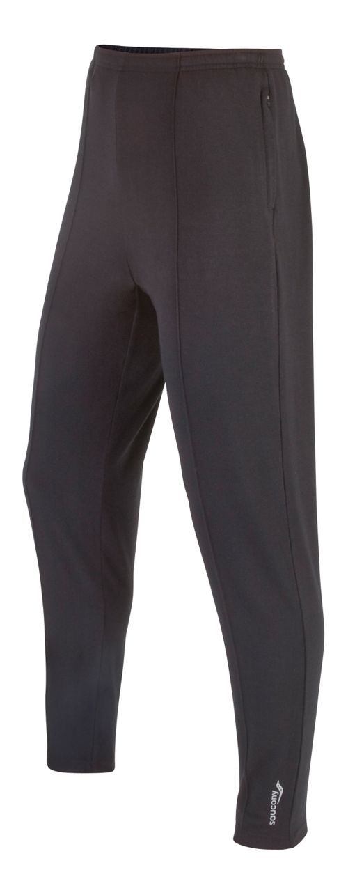 Mens Saucony Boston Full Length Pants - Black L